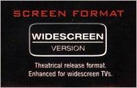 Anamorphic widescreen