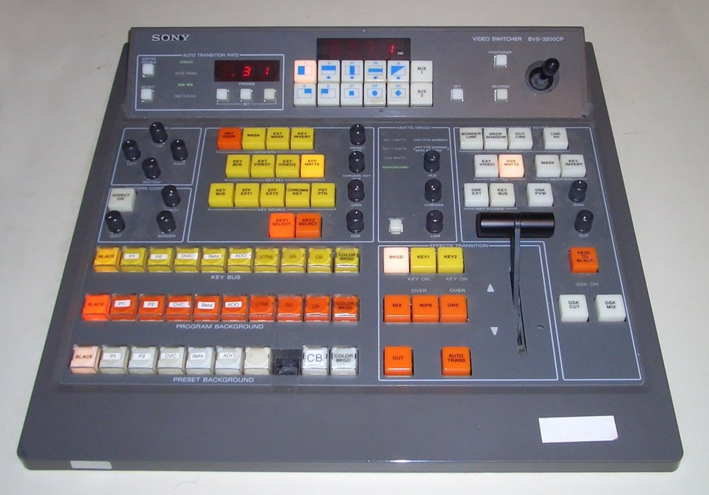 1546px Sony Bvs 3200cp Vision Mixer