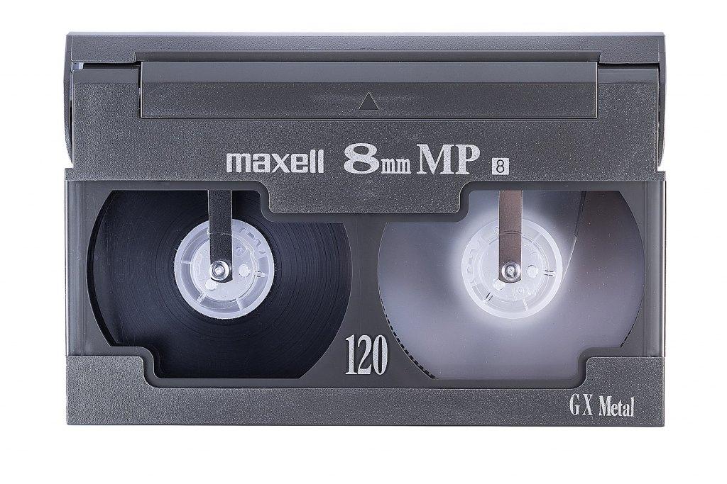 1620px 8mm Video Cassette Front