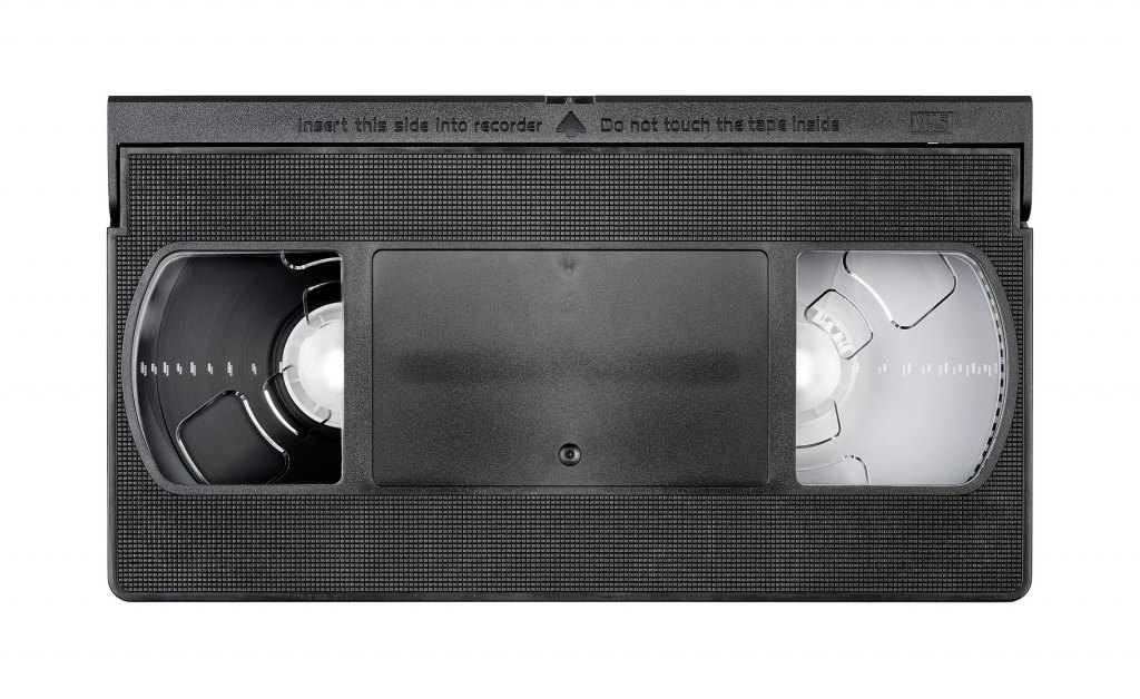 1760px Vhs Video Tape Top Flat