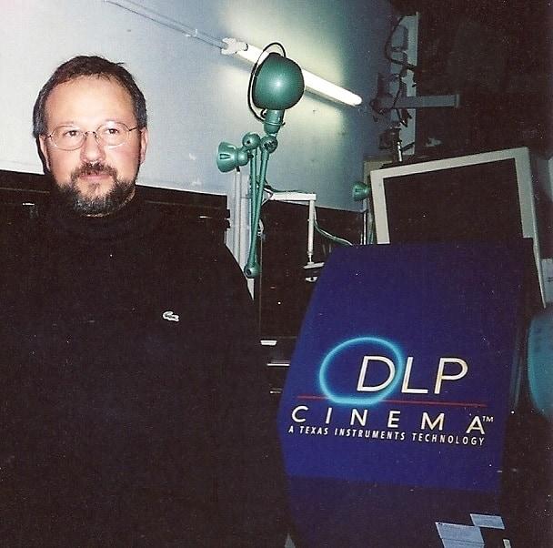 Texas Instruments, Dlp Cinema Prototype System, Mark V, Paris, 2000 Philippe Binant Archives
