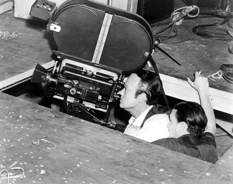 Citizen Kane Filming Low Angle