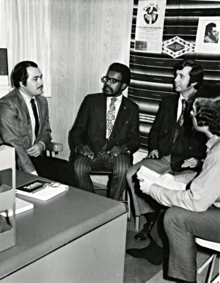 Conversation About Cross Cultural Youth Convention, 1972 (16432965096)