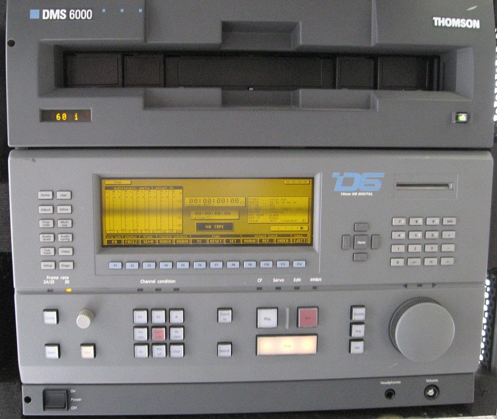 1281px D6 Vtr Tape Deck Part