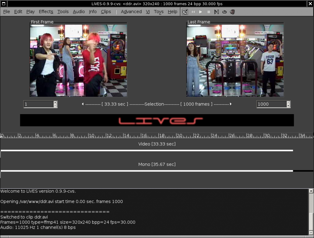 Lives Screenshot