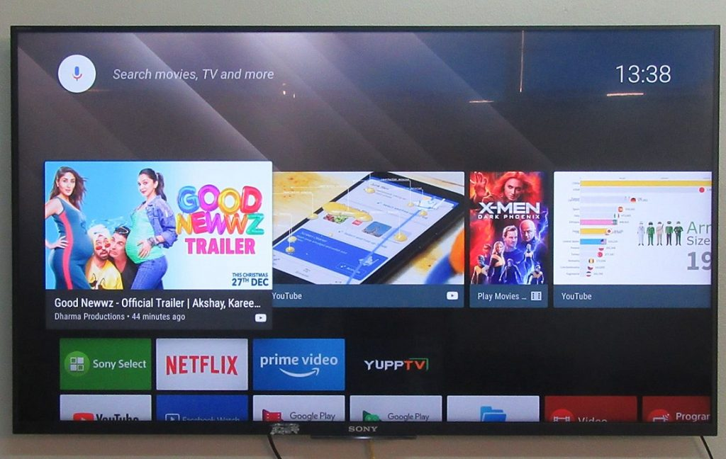 1137px Sony Bravia Android Tv