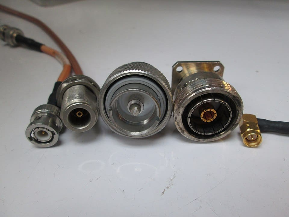 960px Rf Connector Comparison, Bnc, N, 7 16 Din, Sma